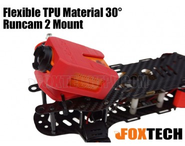 Flexible TPU Material 30° Runcam 2 Mount