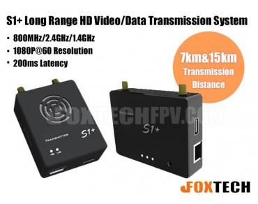 S1+ Long Range HD Video&Data Transmission System 2.4G(7km)