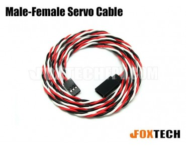 Male-Female Servo Cable-100MM