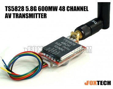 5.8G 600mw 48 Channel AV Transmitter(TS5828)