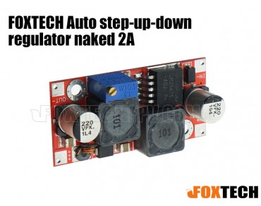 FOXTECH Auto step-up-down regulator naked 2A