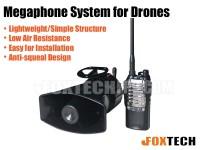 Megaphone System for Drones