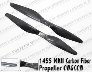 1455 MKII Carbon Fiber Propeller CW&CCW