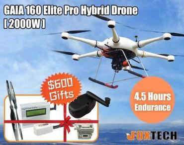 GAIA 160 Elite Pro 2000W Hybrid Drone