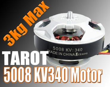 5008/340KV Brushless Motor/black(TL96020)