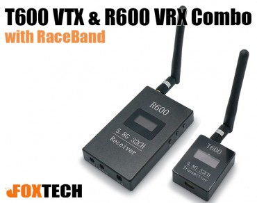 T600 VTX & R600 VRX Combo with RaceBand