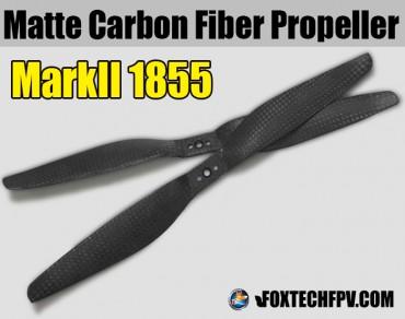 1855 MARKII Matte Carbon Fiber Propeller CW&CCW