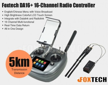 Foxtech DA16+ 16-Channel Radio Controller