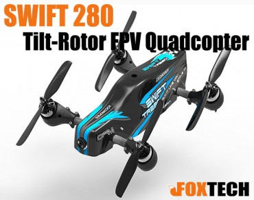 SWIFT 280 Tilt-Rotor FPV Quadcopter PNP