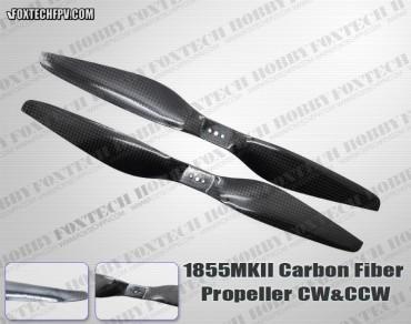 1855 MKII Carbon Fiber Propeller CW&CCW