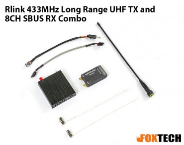 Rlink 433MHz Long Range UHF TX and 8CH SBUS RX Combo