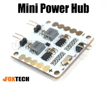 Mini Power Hub/Power Distributor for Racing Quadcopter