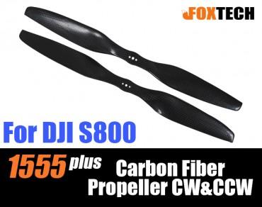 1555 plus Carbon Fiber Propeller CW&CCW