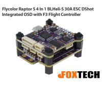 Flycolor Raptor S 4 In 1 BLHeli-S 30A ESC DShot Integrated OSD with F3 Flight Controller