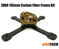ZORO 195mm Carbon Fiber Frame Kit