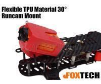 Flexible TPU Material 30° Runcam Mount