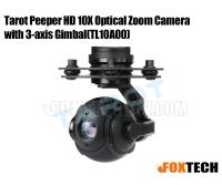 Tarot Peeper HD 10X Optical Zoom Camera with 3-axis Gimbal(TL10A00)
