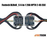 Foxtech BLHeli_S 4-in-1 20A OPTO 2-4S ESC