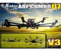 Foxtech K130 V3 U7 Octocopter ARF Combo