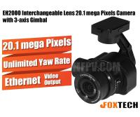 EH2000 Interchangeable Lens 20.1 Mega Pixels Camera with 3-axis Gimbal