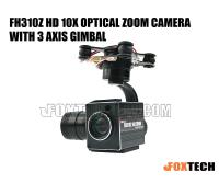 FH310Z HD 10X Optical Zoom Camera with 3 Axis Gimbal (Free Shipping)