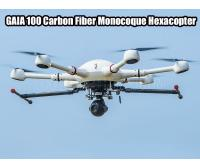 GAIA 100 Carbon Fiber Monocoque Hexacopter