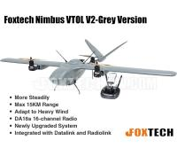 Foxtech Nimbus VTOL V2 Aircraft  for Mapping and Survey(DA16S Combo)