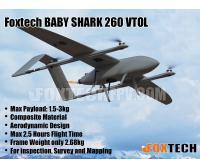FOXTECH BABY SHARK 260 VTOL (Matt Grey)