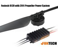 Foxtech 8120 with 2911 Propeller Power System