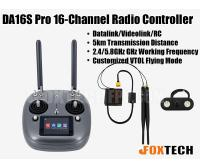 DA16S Pro 16-Channel Radio Controller(SD Version)