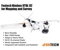 Foxtech Nimbus VTOL V2 for Mapping and Survey(DA16 Combo)(Preorder)