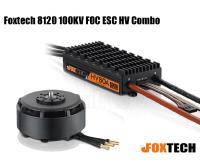 Foxtech 8120 100KV FOC ESC HV Combo