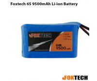 Foxtech 6S 9500mAh Li-ion Battery