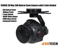 SEEKER-30 Max 30X Optical Zoom Camera with 3-Axis Gimbal-Free Shipping