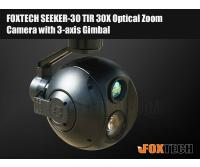 FOXTECH SEEKER-30 TIR 30X Optical Zoom Camera with 3-axis Gimbal-Free Shipping