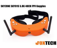 SKYZONE SKY01S 5.8G 48CH FPV Goggles-Free Shipping
