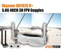 Skyzone V3(SKY02S V+) 5.8G 40CH 3D FPV Goggles-Free Shipping
