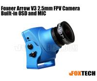 Foxeer Arrow V3 2.5mm FPV Camera Built-in OSD and MIC(Preorder)