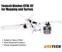 Foxtech Nimbus VTOL V2 for Mapping and Survey(X9D Combo)(Preorder)