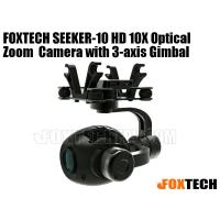 FOXTECH SEEKER-10 HD 10X Optical Zoom  Camera with 3-axis Gimbal-Free Shipping