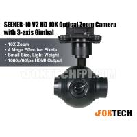SEEKER-10 V2 HD 10X Optical Zoom Camera with 3-axis Gimbal