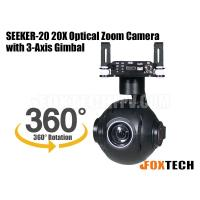 SEEKER-20 20X Optical Zoom Camera with 3-Axis Gimbal-Free Shipping