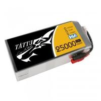 TATTU 22.8V 6S 25000mAh 10C High Voltage Lipo Battery