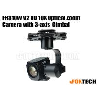 FH310W V2 HD 10X Optical Zoom Camera with 3 Axis Gimbal-Free Shipping