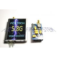 FOXTECH 5.8G 200mw txrx with integrated regulator board and mi