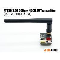 FT958 5.8G 600mw 40CH AV Transmitter(90°Antenna  Seat)