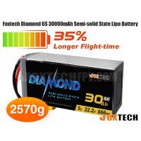 Foxtech Diamond 6S 30000mAh Semi-solid State Lipo Battery