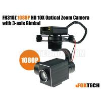 FH310Z 1080P HD 10X Optical Zoom Camera with 3-axis Gimbal-Free Shipping