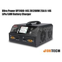 Ultra Power UP2400-14S 2X1200W 25A 6-14S LiPo/LiHV Battery Charger