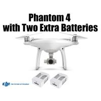 DJI Phantom 4 with Two Extra Batteries(Free Shipping)